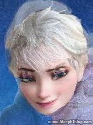 Jack Frost and Elsa combination
