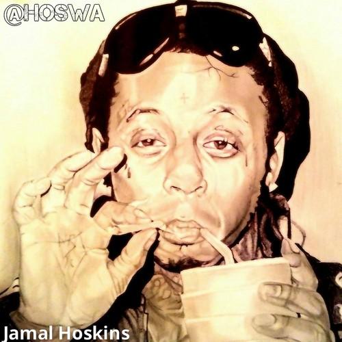 Lil' Wayne wallpaper called Jamal Hoskins x Lil Wayne!