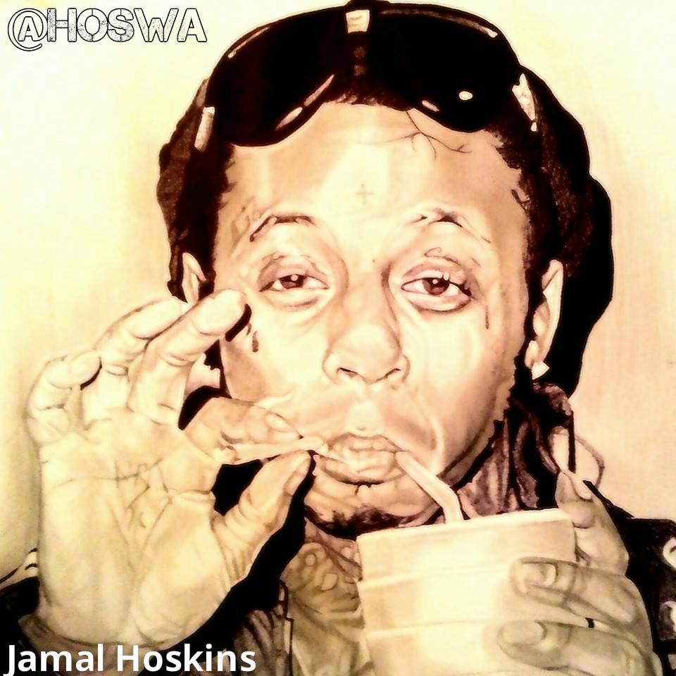 Jamal Hoskins x Lil Wayne!