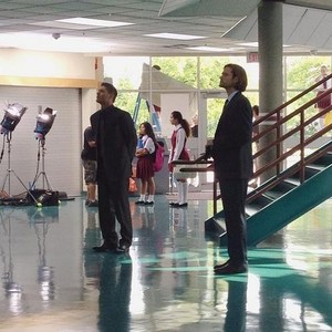 Jared and Jensen - Filming 200th Episode