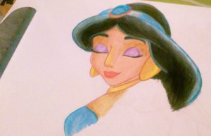 Jasmine-Prismacolor Pencils.