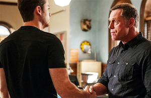 Jay Halstead and Hank Voight