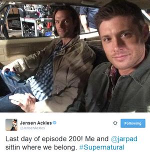 Jensen's Tweet