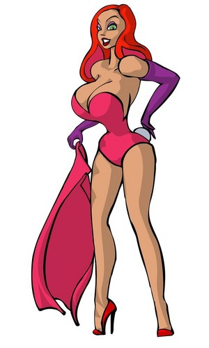 Jessica Rabbit Hintergrund possibly containing Anime called Jessica Rabbit