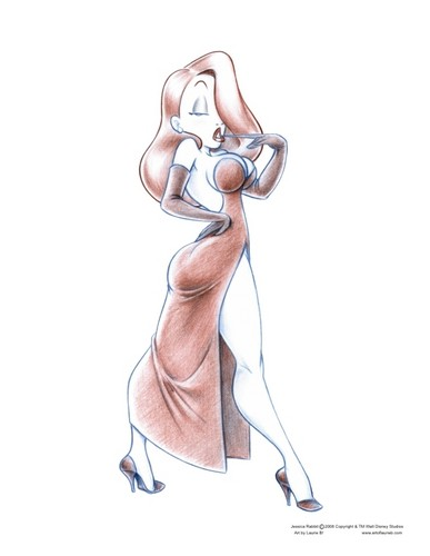 Jessica Rabbit wallpaper entitled Jessica Rabbit