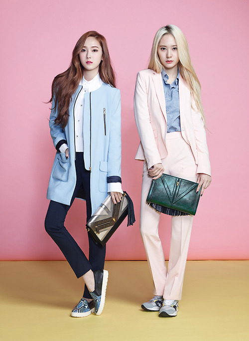 Girls Generation/SNSD images Jessica and Krystal Lapalette ... F(x) Krystal And Jessica