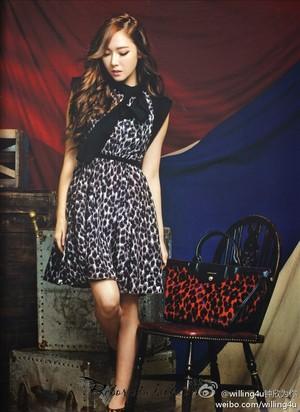 Jessica on Cosmopolitan HK September (2014) Issue