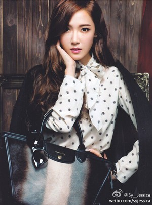 Jessica on Cosmopolitan HK September (2014) Issue
