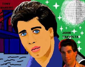 John Travolta in SNF