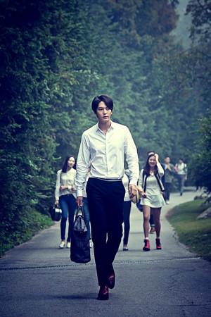 "Joo Won and Shim Eun Kyung Актёрское искусство Together In ""Tomorrow Cantabile"""