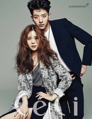Jungshin and Kim So Young for 'CeCi'