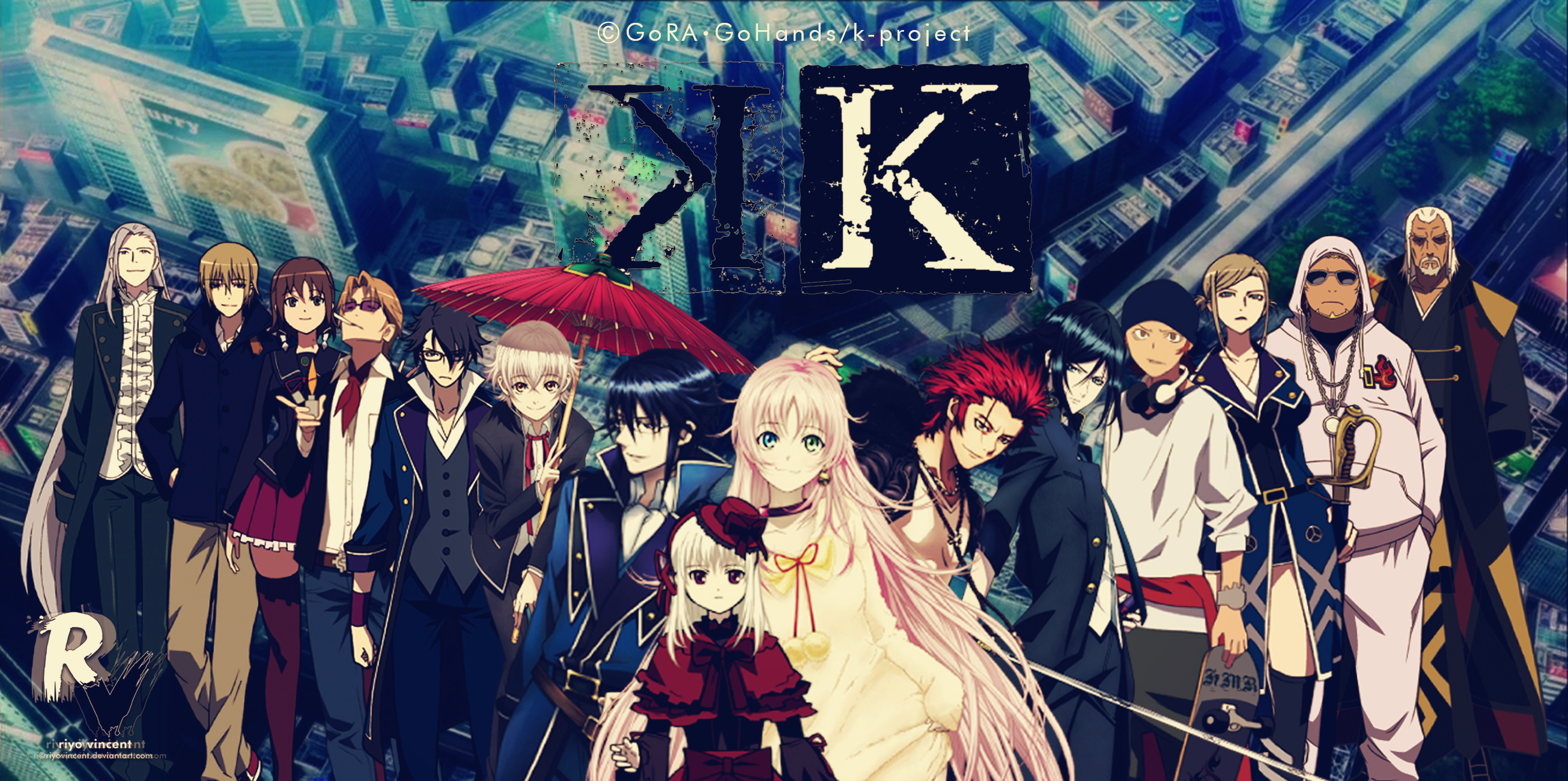 The Anime Kingdom Images K Project Hd Wallpaper And Background Photos