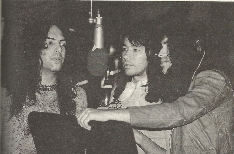 Ciuman 1973 loceng Sound studio NYC