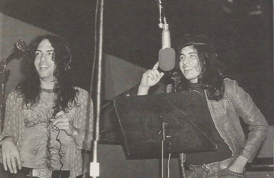 Paul Stanley KISS 1973 Bell Sound studio NYCPaul Stanley 1973