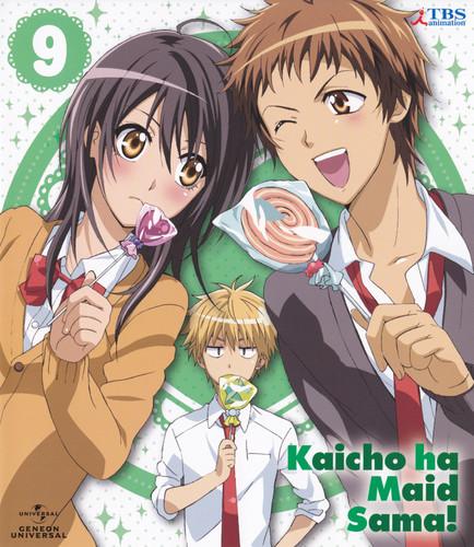 Kaichou wa Maid-sama wallpaper containing anime called Kaichou wa Maid Sama