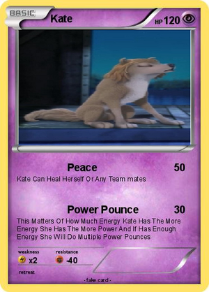 Kate's Pokemon Card