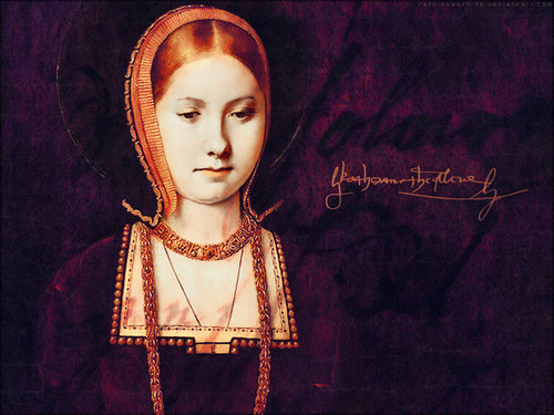 Women in History वॉलपेपर probably with a mantilla, मंटिला and a mantelet titled Katherine of Aragon