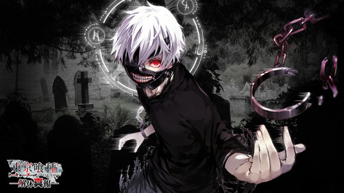 Tokyo Ghoul karatasi la kupamba ukuta entitled Ken