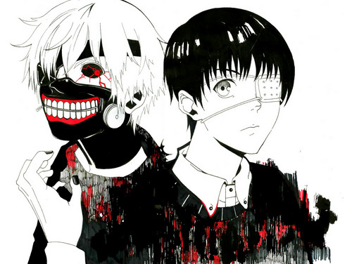 Tokyo Ghoul (Токийский гуль) Обои possibly with Аниме titled Ken