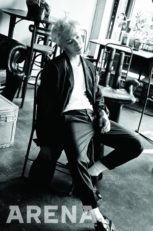 Kikwang for 'Arena Homme Plus'