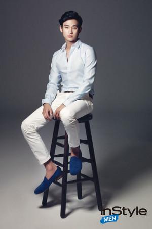 Kim Soo Hyun For InStyle Men