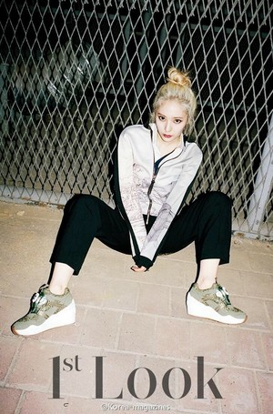 Krystal for 1st Look Magazine