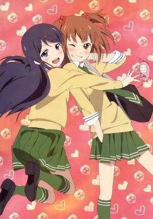 Kurahashi Riko and Maki Natsuo | Cinta Lab