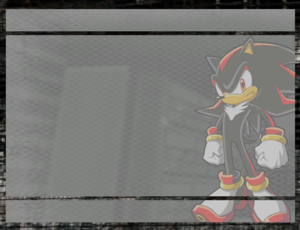 Shadow the Hedgehog's little Paper Letter