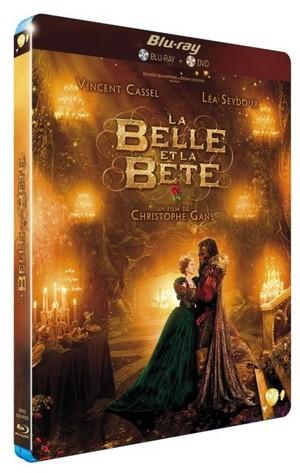 La Belle Et La Bete DVD Blue rayon, ray