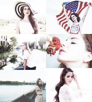 Lana Del Rey Collage