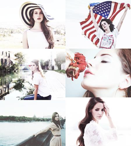 Lana Del Rey Collage Background
