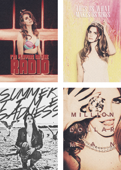 Lana Del Rey Collage
