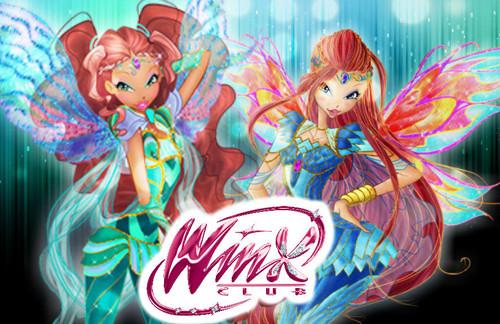 Winx Club hình nền entitled Layla & Bloom: Bloomix Wallpaper.
