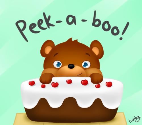 Stampylongnose Hintergrund called Lee's Cake-A-Boo!