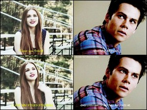 Lydia loves Stiles