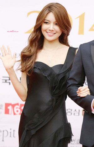 MC Sooyoung at Miss Korea