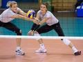 Małgorzata Glinka-Mogentale and Katarzyna Skowrońska - volleyball photo