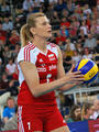 Małgorzata Glinka-Mogentale - volleyball photo