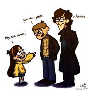 Mabel meets Sherlock and John