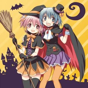Madoka and Sayaka