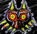 Majora's Mask - the-legend-of-zelda fan art
