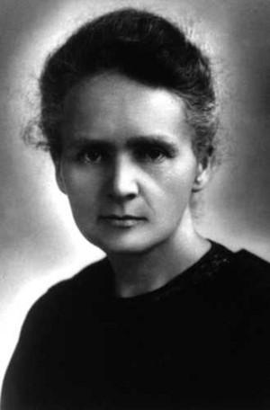 Marie Skłodowska-Curie (7 November 1867 – 4 July 1934)