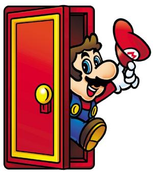 Mario doorway