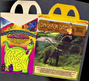 McDonald's DINOSAUR DAYS Happy Meal 1