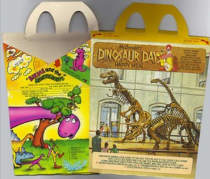 McDonald's DINOSAUR DAYS Happy Meal 3