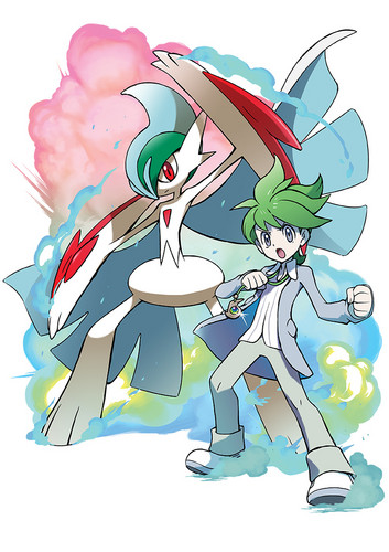 pokémon wallpaper containing animê called Mega Gallade