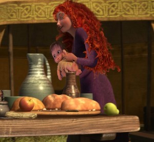 Merida and Hiccup's Baby