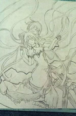Miku and Kaito!