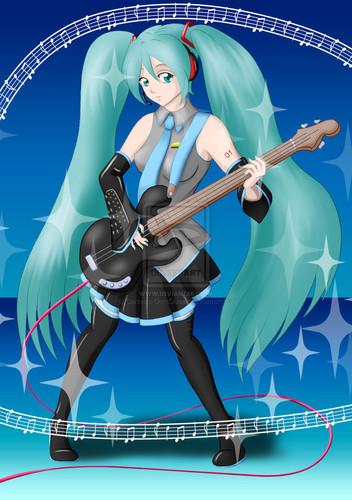 msyugioh123 wallpaper titled Miku anime