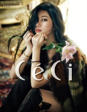 Miss A Suzy for CéCi Korea